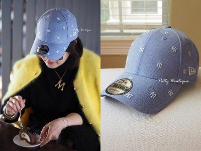 《Patty》超可愛 YANKEES 洋基 47 棒球帽 mini logo 天空藍色 粉色 NY  現貨 在台