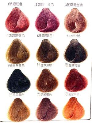 歐詩 染髮劑 草本護髮染髮霜 不含PPD 專為灰白髮設計 淺色 染黑 染膏