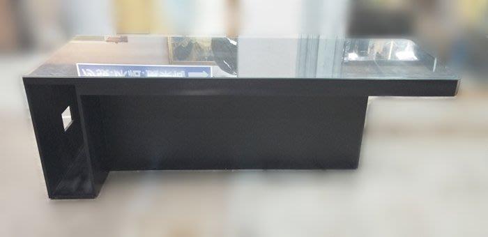 【宏品二手家具館】全新中古原木傢俱 E9094*黑色洽談桌*洽談桌椅 會議桌椅 泡茶桌椅 辦公設備  冰箱 冷氣新竹台北