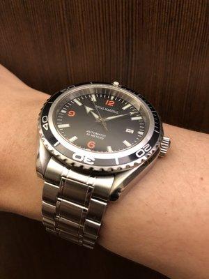 二手收藏錶 皇家馬歇爾Royal Marshal 42mm 自動機械錶