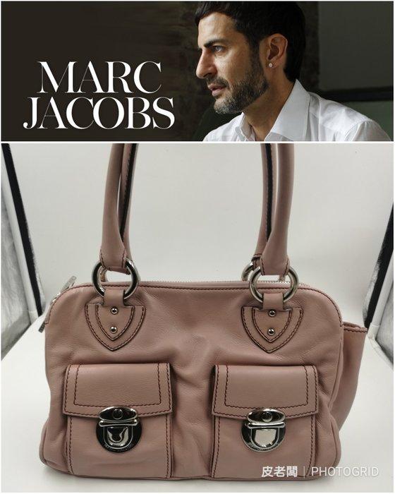 【皮老闆】近全新真品 Marc Jacobs 手提包 肩背包 (L)