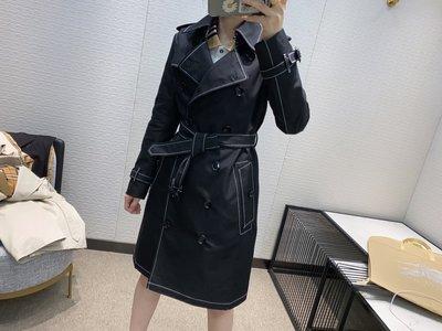 女人必備 代購  20202 BURBERRY 新款滾邊嘎巴甸Trench風衣 訂金 4