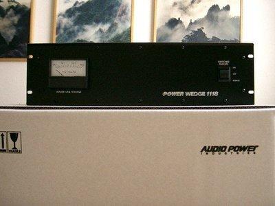 Power Wedge 1118.mark levinson.krell.audio research.theta