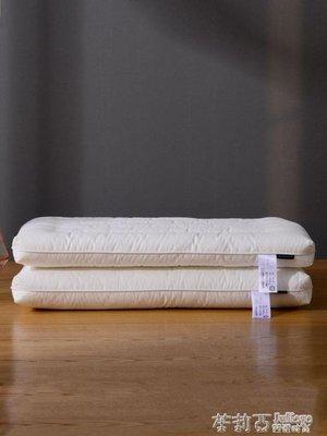 低枕頭平薄枕成人兒童3-6-10-12歲小學生單人枕芯女男四季通用