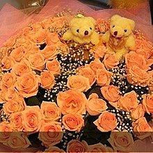 網路票選最低價($980)99朵玫瑰花束~情人節花禮~情人節花束~求婚花束~生日花束~婚禮佈置~信義區花店[J041]