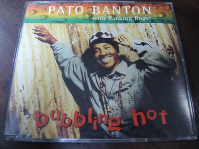 MWM◎【二手CD】Pato Banton with Ranking Roger-Bubbling Hot 單曲 英版