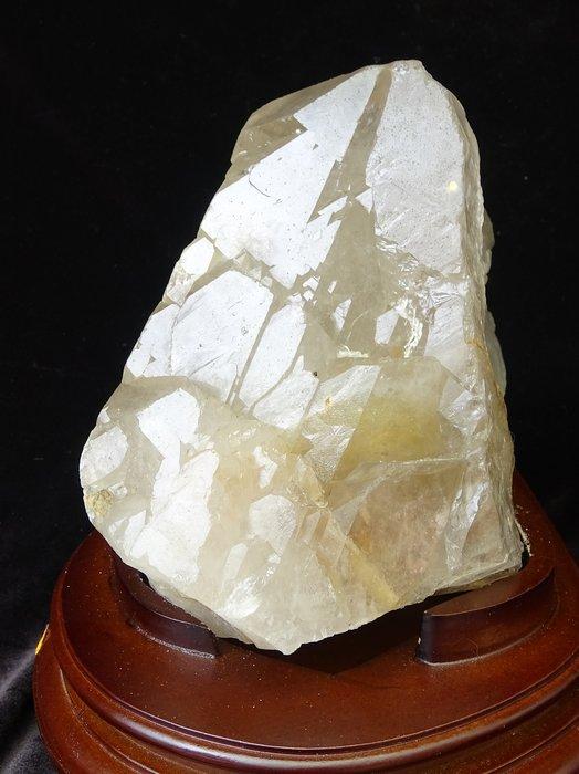 ~shalin-crystal~巴西鱷魚骨幹水晶~3.535公斤~完整度高~除穢聚氣~化煞聚財~低價起標!