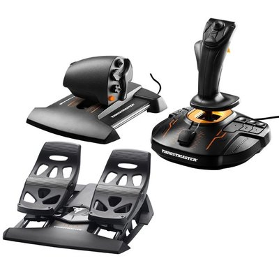[米特3C數位 岡山實體店面] THRUSTMASTER T16000M FCS HOTAS FLIGHT PACK
