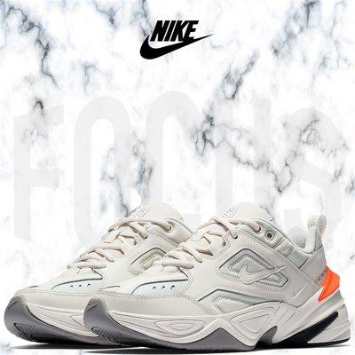 【FOCUS】全新 NIKE W M2K TEKNO 灰白橘 白灰橙 白色 復古 老爹鞋 女鞋 AO3108-001