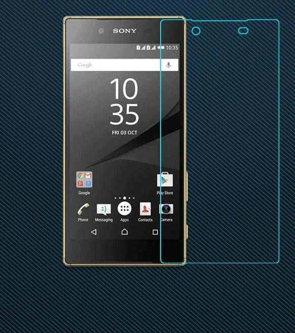 「全館免運」SonyZ5鋼化膜Z5P抗藍光E6633 索尼Z5前后E6603手機膜E6653防爆玻璃膜 【潮流都市】