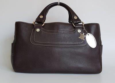 Celine   經典款  Boogie 系列 皮革 手提包  附原廠防塵袋 , 保證真品  超級特價便宜賣