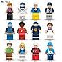 【積木反斗城】12款 運動 籃球 足球 棒球 啦啦隊 橄欖球滑雪賽車網球衝浪划艇 人偶 /相容樂高LEGO積木