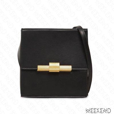 【WEEKEND】 BOTTEGA VENETA BV Cigarette Box 皮革 肩背包 黑色 19秋冬