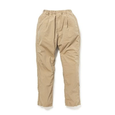 nonnative SS20 DWELLER EASY PANTS RELAX FIT COTTON RIPSTOP