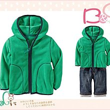 【B& G童裝】正品美國進口OLD NAVY 綠色軟刷毛長袖連帽外套12-18mos
