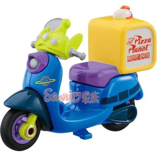 《東京家族》TOMICA 多美迪士尼 玩具總動員 小汽車 夢幻三眼怪 外送pizza摩托車