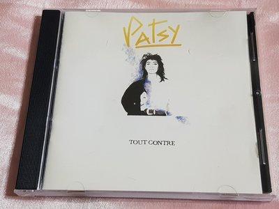 R西洋女(二手CD)PATSY~TOUT CONTRE~