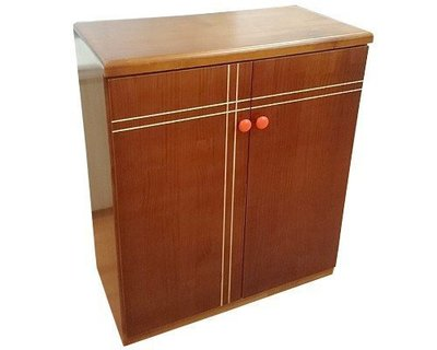 【森林原木手工家具】原木簡約風鞋櫃