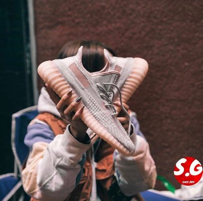 S.G ADIDAS YEEZY BOOST 350 V2 SYNTH 裸粉 粉膚色 粉天使 鞋帶反光 FV5578