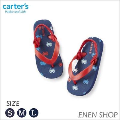 『Enen Shop』@Carters 可愛螃蟹款夾腳拖鞋/人字拖/海灘鞋 #B14|L