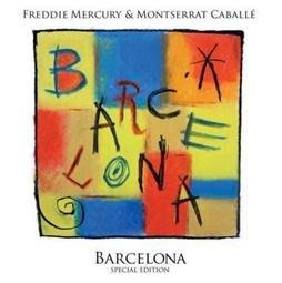 FREDDIE MERCURY 佛萊迪墨裘瑞 巴塞隆納CD,Queen主唱個人專輯 進口版全新108/10/15發行