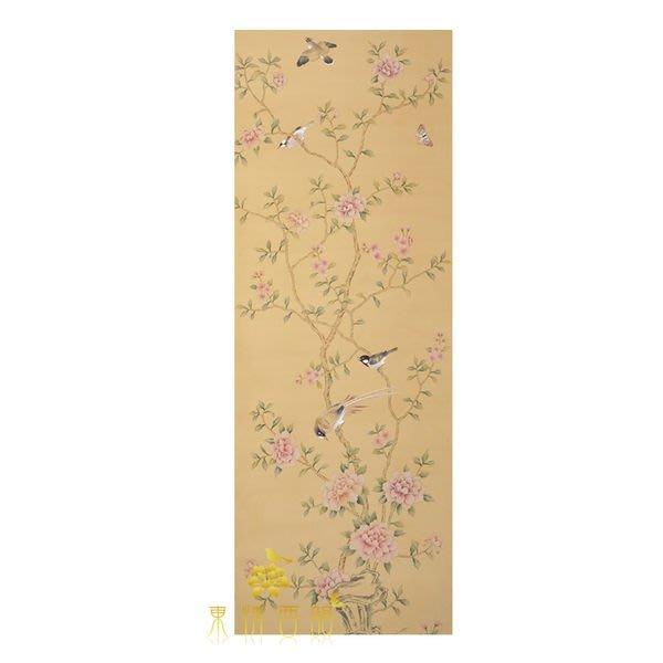 【芮洛蔓 La Romance】手繪絲綢壁紙 ZW01-020 / 壁飾 / 畫飾
