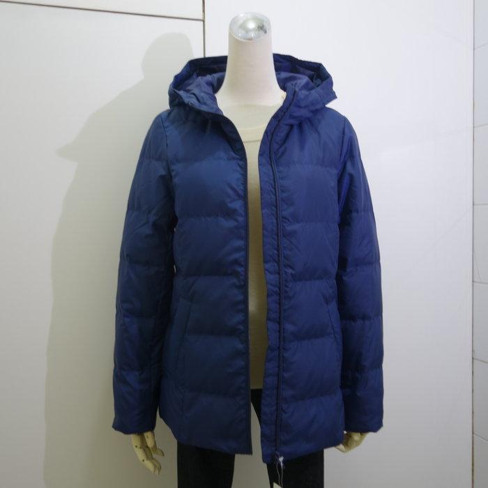 ☆注目の日本百貨公司品牌Crocodile 小鱷魚秋冬新款湛藍色連帽羽絨外套☆
