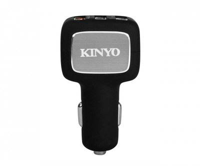 KINYO 耐嘉 QC3.0 3孔車用充電器 QCU-60