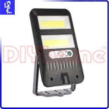 [DIYhome] 太陽能充電人體感應燈 COB白光 智能光感功能迷你360度LED小夜燈陽台燈 Y503988