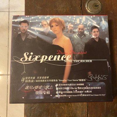 ~春庄生活美學小舖~2手CD   SIXPENCE NONE THE RICHER/DIVINE DISCONTENT