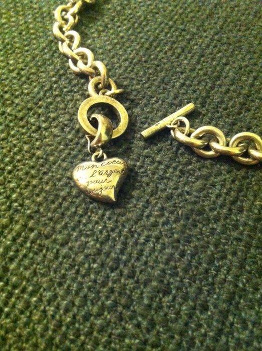 CAROLEE純銀項鍊 飾品 立體墜項鍊 純銀愛心墜飾 卡蘿莉飾品 居禮名店