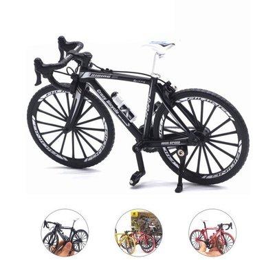 (免運)仿真公路車模型1:10可活動式轉動 迷你單車模型 自行車模型