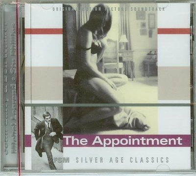 """The Appointment""- Michel Legrand(03)/ John Barry,全新美版"
