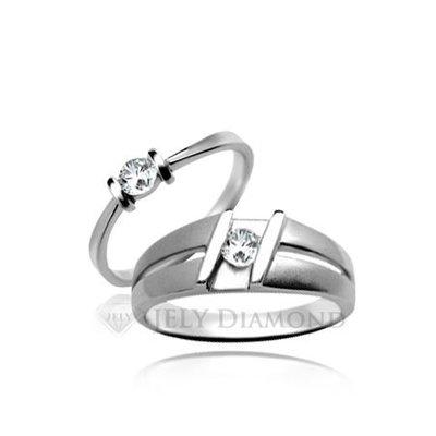 《JELY時尚館》【JELY Diamond】璀璨星空(對戒)---10分真鑽石戒指 §會員獨享交換維修優惠§