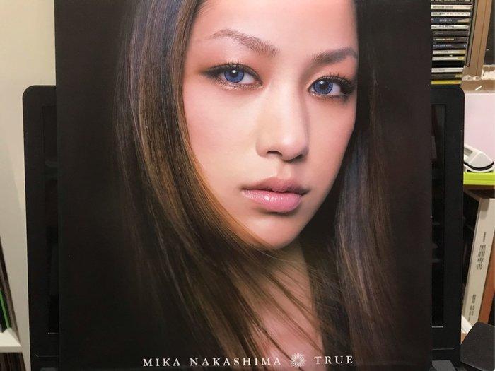 中島美嘉 MIKA NAKASHIMA/TRUE 兩片裝 黑膠唱片