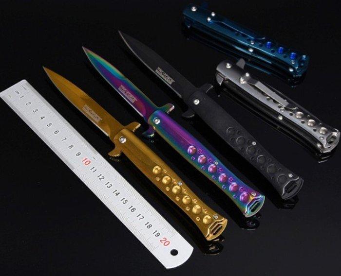 新款高硬度野營防身荒野求生劍魚升級版折刀