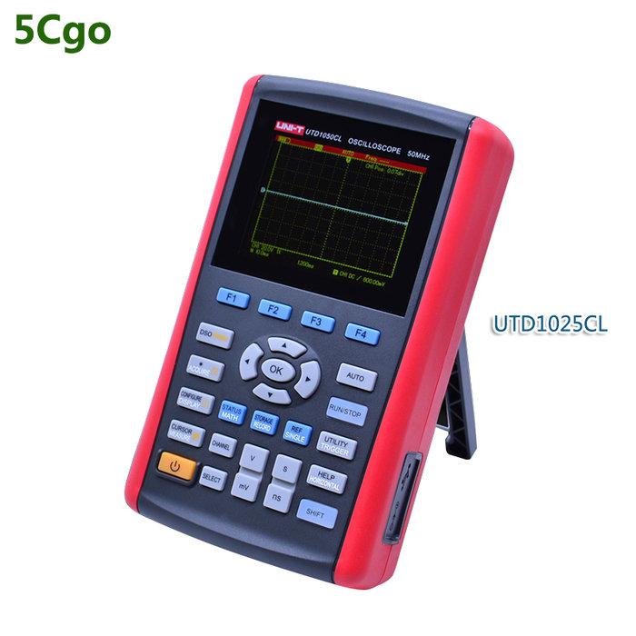 5Cgo【批發】UTD1025CL正品數字示波器手持式數字存儲示波器高清顯示器 含稅可開發票 t594893195420