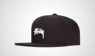 【HOMIEZ 】STUSSY STOCK HO17 CAP 棒球帽 黑