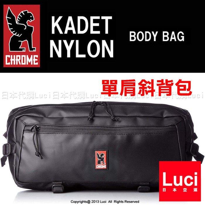 防水 CHROME 單肩斜背包 KADET BG196 pack 美國自行車 肩背包 黑色 日本限定 LUCI日本代購