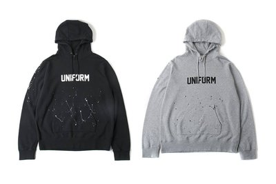 16aw Uniform Experiment DRIPPING LOGO PULL OVER PARKA 含運 ue