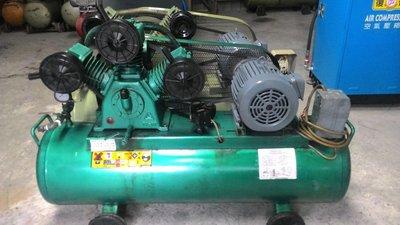 中古5HP復盛牌空壓機東元馬達熱賣中(收購.買賣.維修.保養空壓機,請見關於我)