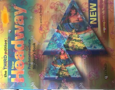 New headway pre-intermediate stydent's book the third edition