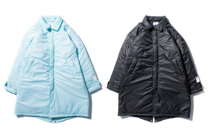 { POISON } DeMarcoLab PUFF D COAT 多功能內袋 防潑水面料厚實鋪棉嶄新機能大衣