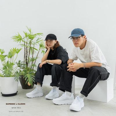 ►Shadow x Clown◄Hoka One One bondi 6  全白