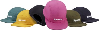 (TORRENT) Supreme Cavalry Twill Camp Cap 黑.湖水綠.粉