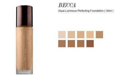 ※美國代購-潔潔小屋※Becca Aqua Luminous Perfecting Foundation 打亮粉底液