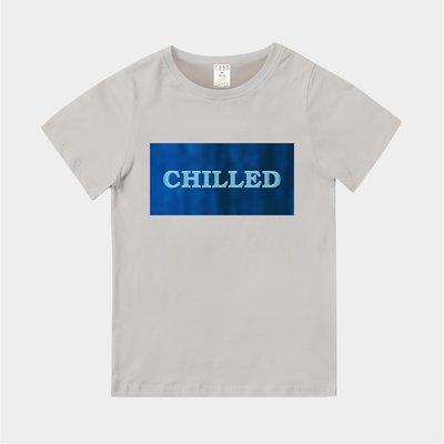 T365 MIT 親子裝 T恤 童裝 情侶裝 T-shirt 標語 話題 口號 美式風格 slogan CHILLED