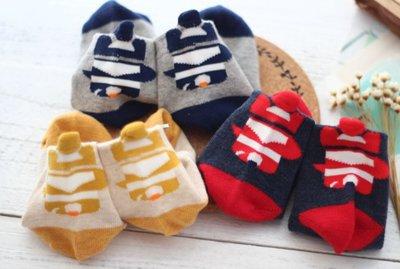 【Mr. Soar】男童立體鯨魚短襪 現貨