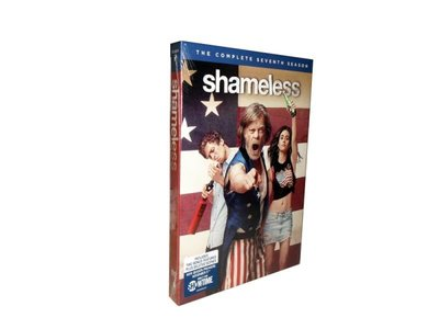 外貿影音 無恥之徒1-8季24DVD Shameless 高清原版美劇DVD 未刪減學英語
