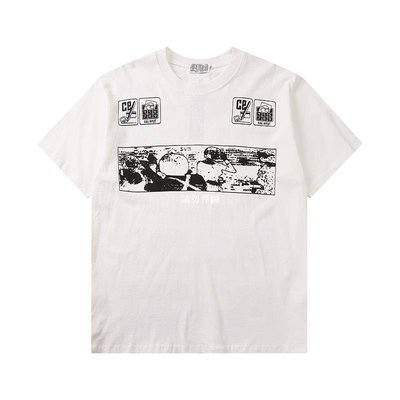 HHABY20SS C.E短袖 CAVEMPT NOTE DOWN 卡通動漫滿屏印花男女情侶T恤潮